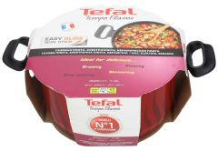 Tefal New Tempo Flame Stewpot With Cover  28cm