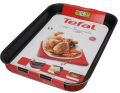 Tefal New Oven Dishes Rectangular Bakeware 37x27cm