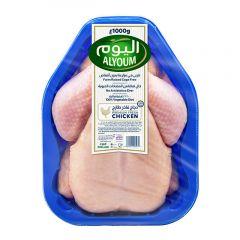 Alyoum Fresh Whole Chicken 1000G |sultan-center.comمركز سلطان اونلاين
