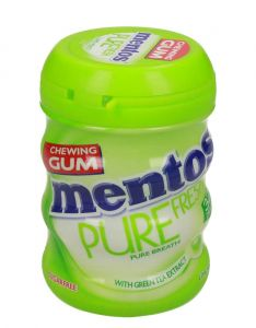 Mentos Pure Fresh Lime Mint Sugar Free Chewing Gum
