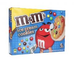 M&M'S Vanilla Ice Cream Cookies 6 Pcs  710Ml |sultan-center.comمركز سلطان اونلاين
