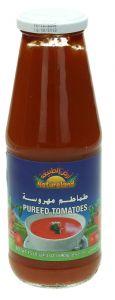 Natureland Organic Pureed Tomatoes 690G  ?sultan-center.com????? ????? ???????