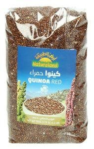 Natureland Organic Quinoa Red 500G  ?sultan-center.com????? ????? ???????