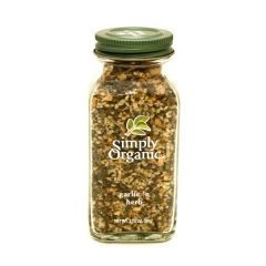 Simply Organic Garlic 'N Herb 3.1Oz |?sultan-center.com????? ????? ???????
