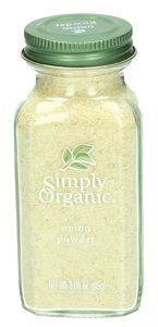 Simply Organic Onion White Powder 3Oz | sultan-center.com مركز سلطان اونلاين