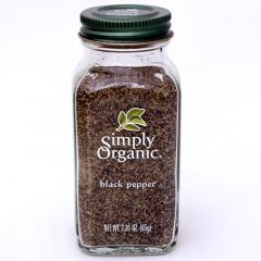 Simply Organic Medium Grind Black Pepper 2.31Oz | sultan-center.com مركز سلطان اونلاين