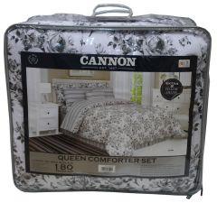 Cannon Queen Printed Comforter Set