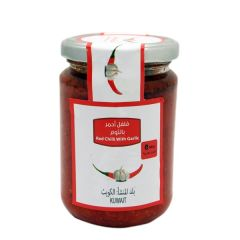 Farmers Market Red Chilli with Garlic Jar 240G | sultan-center.com مركز سلطان اونلاين