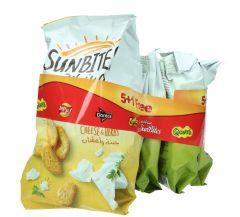 Sunbites Assorted Crisps  50G X 5 + 1 Free |?sultan-center.com????? ????? ???????