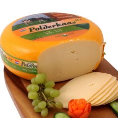 Polderkaas Gouda Wheel Cheese Slices