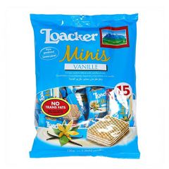 Loacker Minis Vanilla wafer Biscuit