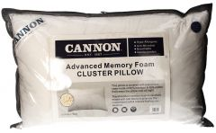 Cannon Advanced Memory Foam Cluster Pillow
