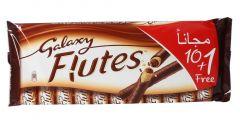 Galaxy Flutes Milk Chocolate Bar 22.5g x 11 |sultan-center.comمركز سلطان اونلاين