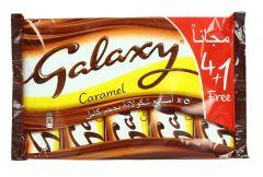 Galaxy Milk Chocolate With A Soft Caramel Filling