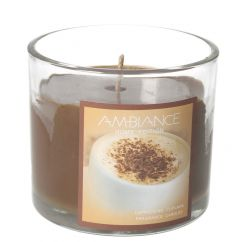 Ambiance Cappuccino Cupcake Fragrance Candle