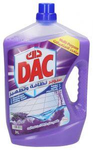 Dac Lavender Super Cleanliness & Disinfection Multi-Purpose Cleaner 3l |?sultan-center.com????? ????? ???????