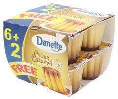Danette Creme Caramel Dessert 90g x 6+2free |?sultan-center.com????? ????? ???????
