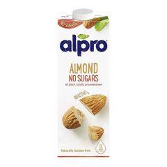 Alpro Almond Unsweetened Drink  1L |sultan-center.comمركز سلطان اونلاين
