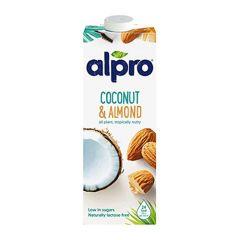 Alpro Coconut Almond Drink  1L |sultan-center.comمركز سلطان اونلاين