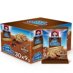 Quaker Chocolate Chips Oat Cookies Pack of 30