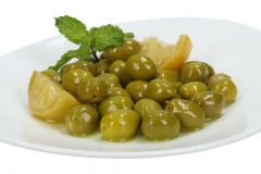 Moroccan Green Olives