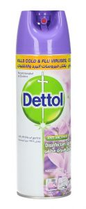 Dettol Lavender Anti Bacterial Disinfectant Spray  450ml |?sultan-center.com????? ????? ???????