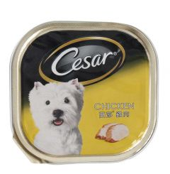 Cesar Chicken Dog Food  100g |?sultan-center.com????? ????? ???????