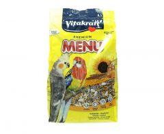 Vitakraft Premium Menu Cocktail Pet Birds Food  1Kg |?sultan-center.com????? ????? ???????
