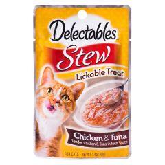 Hartz Delectables Stew Chicken & Tuna Cat Food