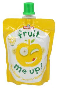 Andros Fruit Me Up Apple And Banana Fruit Snack  90g