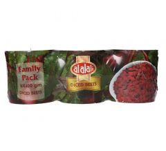 Al Alali Family Pack Diced Beets  400g x 3pcs  sultan-center.comمركز سلطان اونلاين