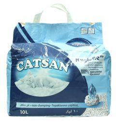 Catsan Hygiene Plus Odor Absorbing Non-Clumping Cat Litter  10L |sultan-center.comمركز سلطان اونلاين