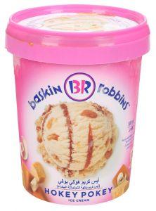 Baskin Robins Hokey Pokey Ice Cream 500ml  sultan-center.comمركز سلطان اونلاين