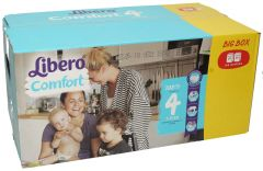 Libero 4 Comfort 7-11Kg Diapers