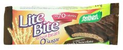 Santiveri Lite Bite Light Wheat Bran With Dark Chocolate  17G |?sultan-center.com????? ????? ???????