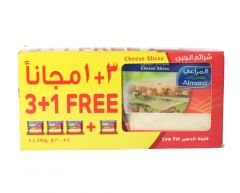 Al Marai Low Fat Cheese Slices  200g x 4pcs |?sultan-center.com????? ????? ???????