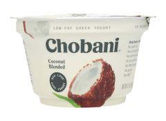Chobani Low Fat Coconut Blended Greek Yogurt