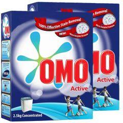 Omo Active Powder Detergent 2 Pieces