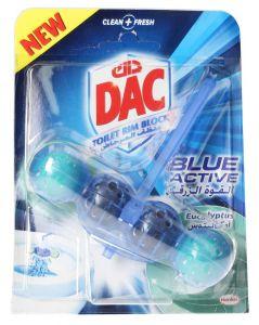 Dac Blue Active Eucalyptus Toilet Rim Block 50g |?sultan-center.com????? ????? ???????