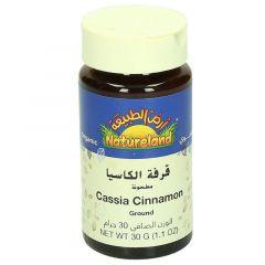 Natureland Organic Ground Cassia Cinnamon 30G |?sultan-center.com????? ????? ???????