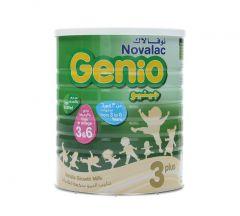Novalac Genio 3 Plus Vanilla Flavored Powder Milk 3-6 Years 800G  ?sultan-center.com????? ????? ???????