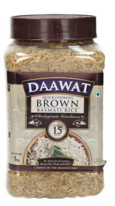 Daawat Brown Basmati Rice  1kg |?sultan-center.com????? ????? ???????
