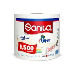 Sanita Gipsy Tissue Roll  1500Pcs  sultan-center.comمركز سلطان اونلاين
