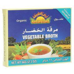 Natureland Organic Vegetable Broth 66G |?sultan-center.com????? ????? ???????