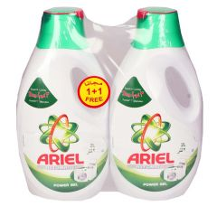 Ariel Automatic Laundry Power Gel 1+1Free