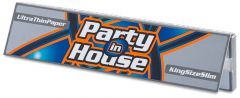 Party In House Silver King Size Paper