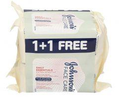Johnson'S Extra Sensitive Cleansing Wipes 25Pcs  1+1 free |?sultan-center.com????? ????? ???????