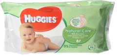 Huggies Natural Care Baby Wipes 56pcs |?sultan-center.com????? ????? ???????