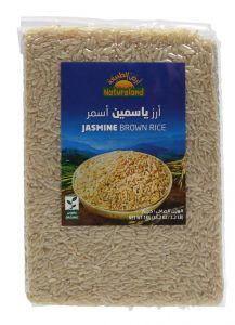Natureland Jasmine Brown Rice  1KG |?sultan-center.com????? ????? ???????