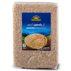 Natureland Jasmine Brown Rice  1KG |sultan-center.comمركز سلطان اونلاين